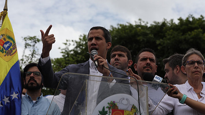 Crisis en Venezuela: Guaidó pide a un representante coordinar cooperación con Comando Sur de Estados Unidos