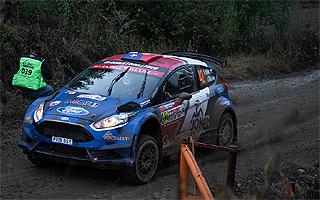 Alberto Heller y Takamoto Katsuta disputan palmo a palmo el primer lugar del WRC2