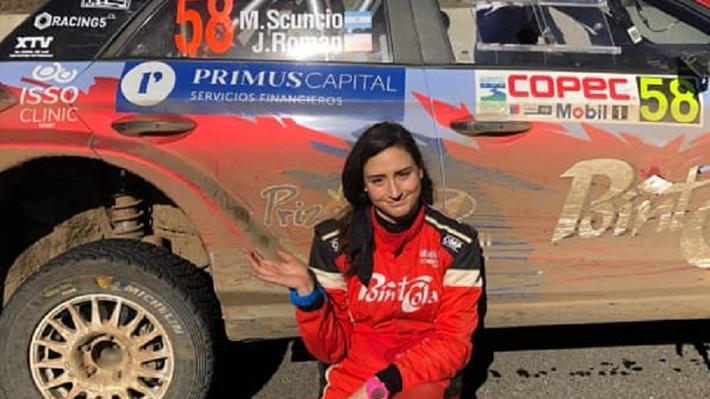 Martín Scuncio y Javiera Román también sucumben a la dureza de Concepción y abandonan el WRC
