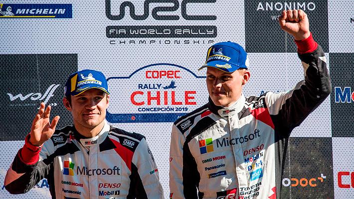 Finaliza histórico rally mundial en Concepción y Tänak fue el mejor de los mejores