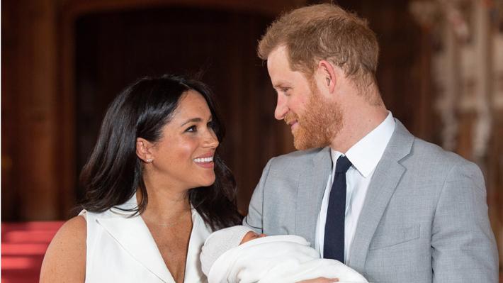 Duques de Sussex comparten una nueva fotografía de Archie en conmemoración al Día de la Madre