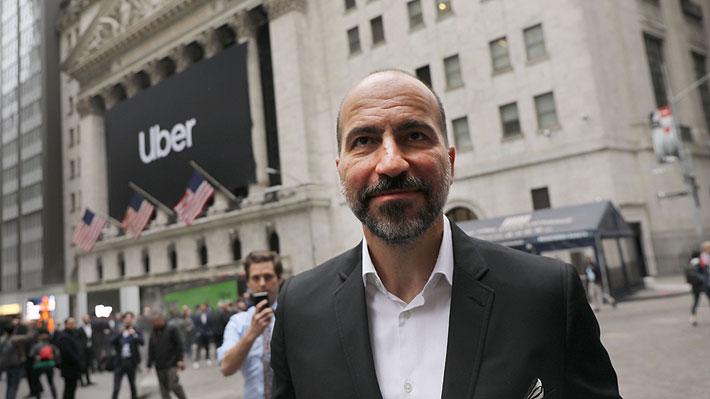 """CEO de Uber reconoce difícil inicio bursátil y anticipa """"tiempos difíciles"""" para los próximos meses"""