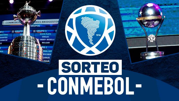 Repase el sorteo de la Sudamericana y de la Libertadores