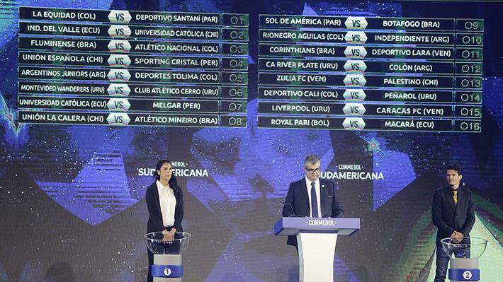 Podría haber duelo de chilenos en octavos... Así quedó el cuadro de la Copa Sudamericana