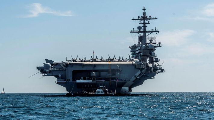 España ordena retirar buque de ese país de una misión encabezada por Estados Unidos