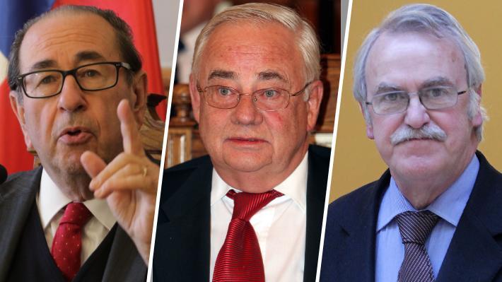 Cerda, Pfeiffer y Muñoz Pardo: Los jueces que postularon a la Suprema y sufrieron el rechazo del Senado