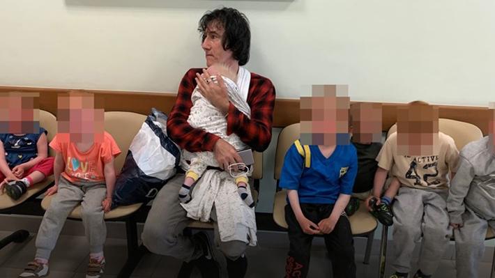 Los siete niños rescatados por su abuelo chileno desde Siria ya arribaron a Suecia