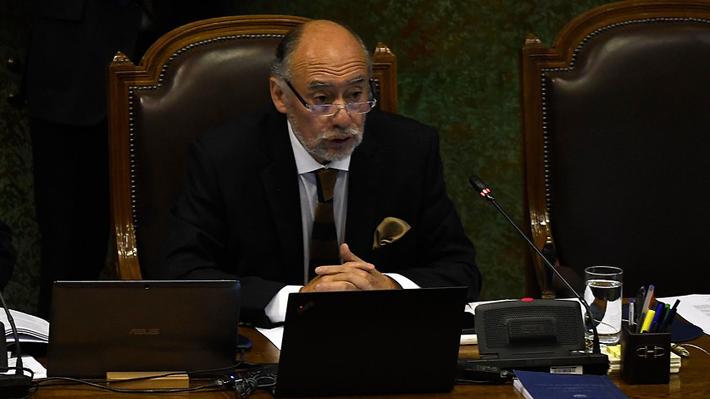 Presidente de la Cámara se disculpa por agresión de diputado García a periodista y dice que podría llegar al Ministerio Público