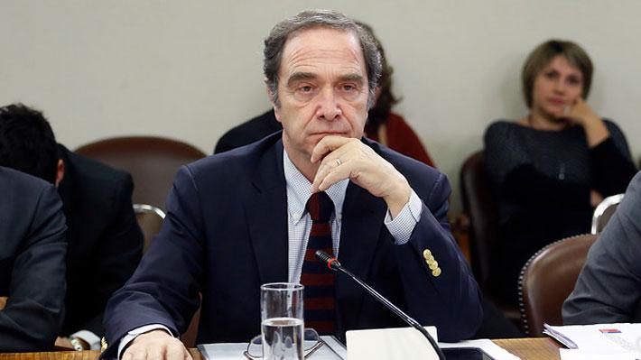 Ministro Larraín asegura que Lusic declinó postulación ante negativa de la oposición