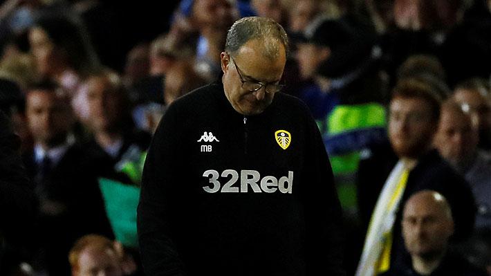"""Marcelo Bielsa no ocultó su """"dolor y decepción"""" por perder la opción de ascender con el Leeds a la Premier League"""