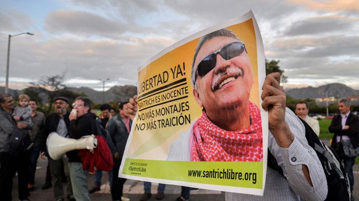 Tribunal de Colombia rechaza la solicitud de extradición a EE.UU. de ex jefe de las FARC