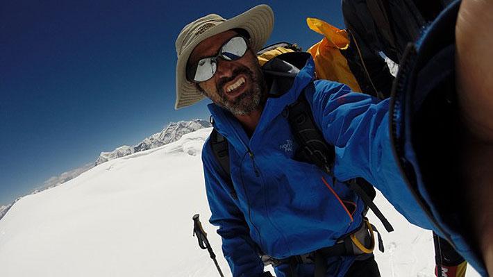 Rodrigo Vivanco, el montañista chileno desaparecido en Nepal que estuvo en tela de juicio por anteriores ascensos