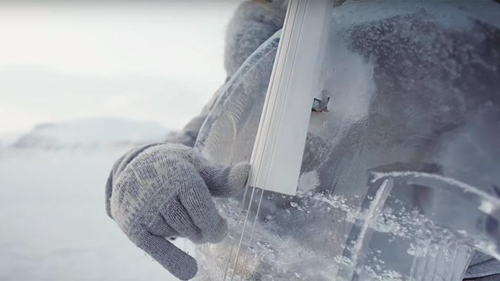 Video: Músicos tocan instrumentos hechos de hielo en el concierto más gélido del mundo