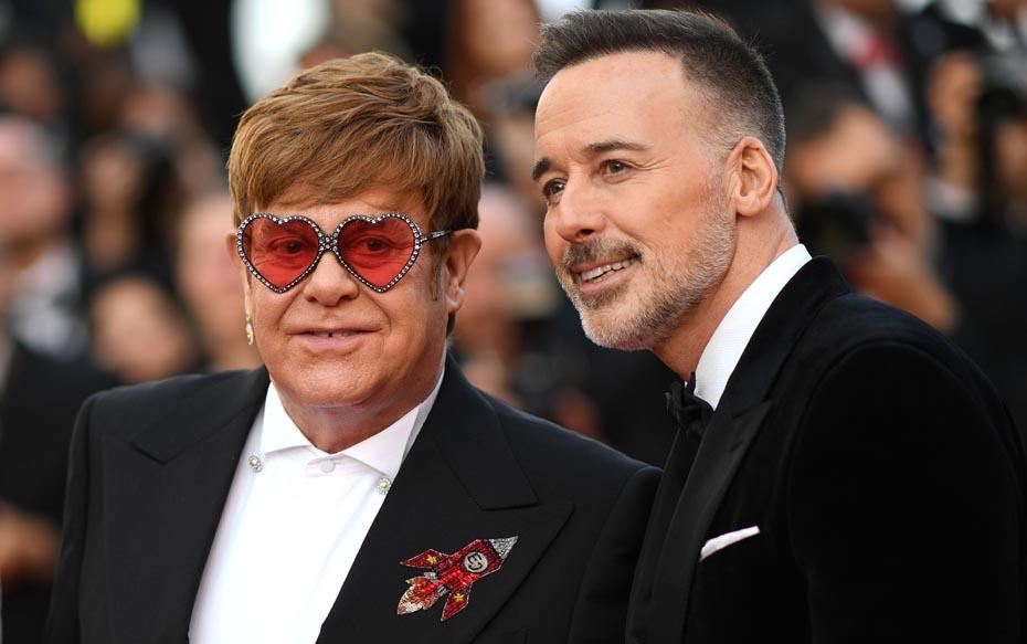 Galería: Elton John posa junto a su marido en el estreno de su película biográfica en Cannes 2019