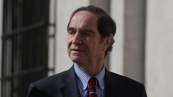 """Larraín anuncia fin de """"nominaciones políticas"""" y dice que no se consultó a senadores por Repetto"""