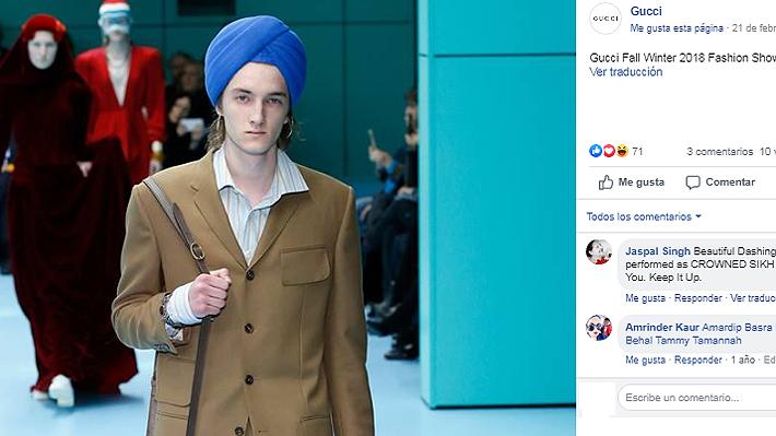 Marca de lujo es nuevamente criticada por apropiación cultural: esta vez fueron turbantes de 800 dólares