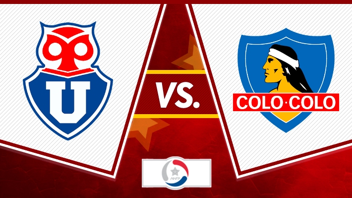 Así fue el empate a uno entre Universidad de Chile y Colo Colo