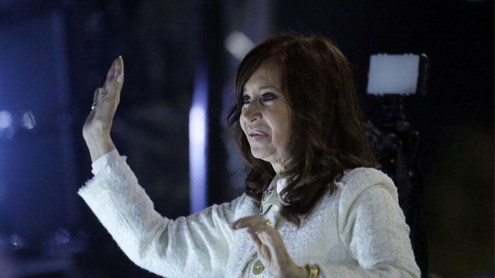 Cristina Fernández anunció su candidatura a Vicepresidenta de Argentina
