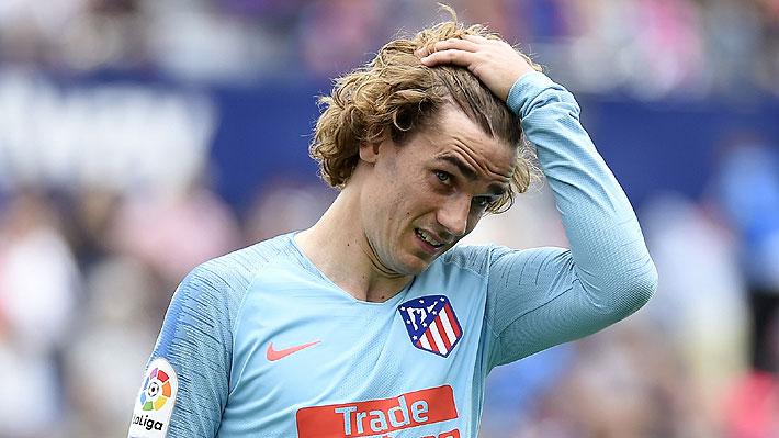 """Aseguran que Griezmann no sería """"bienvenido"""" en el plantel del Barcelona y que fue declarado """"persona non grata"""""""
