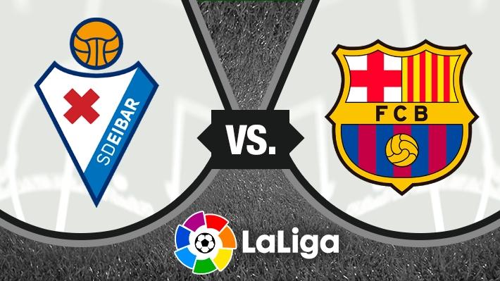 Revive el empate entre Eibar y Barcelona con Vidal y Orellana en cancha