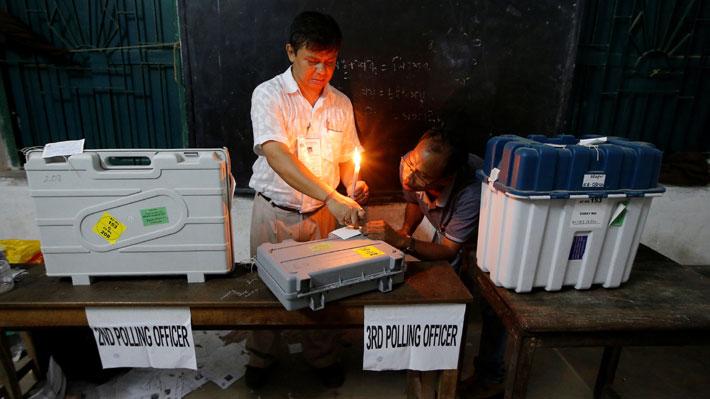 Termina la votación más grande del mundo en India: el recuento de votos comenzará el jueves