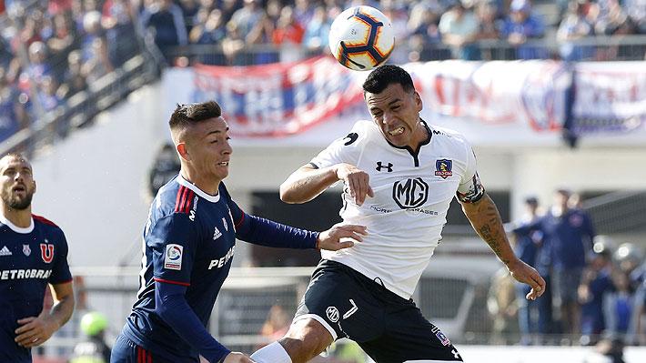 Mira la agresión de Esteban Paredes sobre Rodrigo Echeverría que pasó inadvertida en el Superclásico
