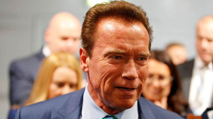 Arnold Schwarzenegger asegura que no presentará cargos tras ser golpeado en un evento deportivo en Sudáfrica