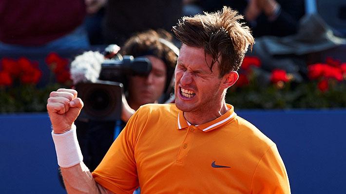 Jarry tiene un gran debut y avanza a octavos derrotando en sets corridos a Ebden en el ATP de Ginebra