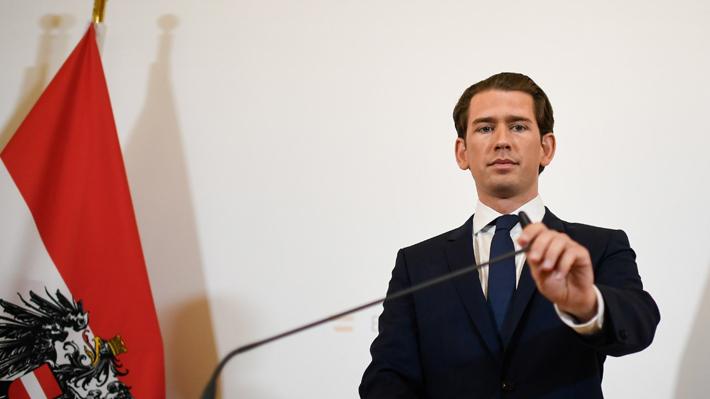 Crisis en Austria por quiebre de coalición de Gobierno derechista tras filtración de polémico video