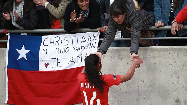 """Fernanda Pinilla publica mensaje tras quedar sorpresivamente fuera de la nómina final de la """"Roja"""" femenina para el Mundial"""