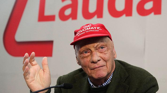 A los 70 años fallece Niki Lauda, quien fuera tres veces campeón mundial de Fórmula Uno