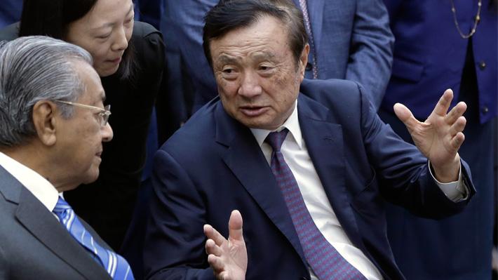 """Fundador de Huawei asegura que su empresa tiene reservas y que controles estadounidenses """"no tendrán impacto"""""""