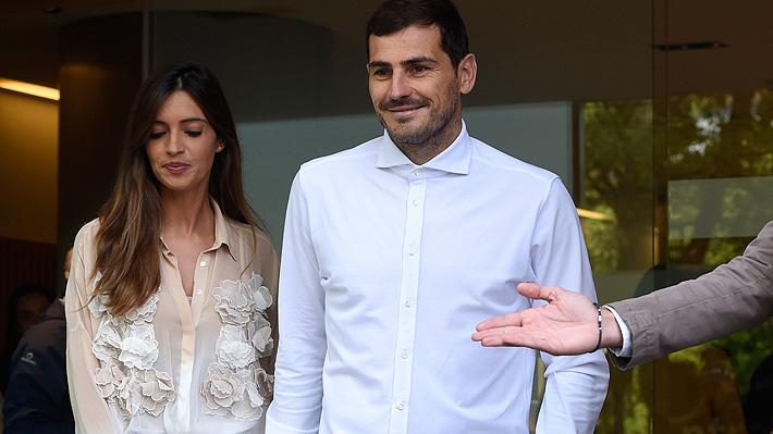 La periodista Sara Carbonero, esposa de Iker Casillas, anunció que fue operada de cáncer de ovario
