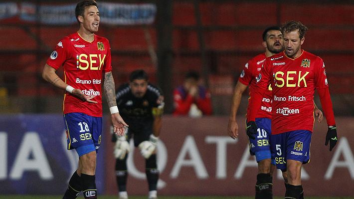 Unión Española cae por goleada ante Sporting Cristal en Santa Laura y queda con un pie afuera de la Sudamericana