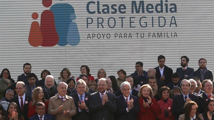 Presidente lanza Red Clase Media Protegida y asegura que quiere entregar un mejor país del que recibió