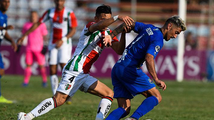 En un final de infarto, con dos goles en los descuentos, Palestino cae en la agonía ante Zulia por la Sudamericana