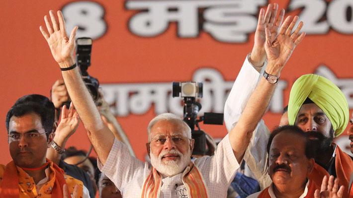 Elecciones en India: Partido del Primer Ministro logra una aplastante victoria para mantenerse en el poder