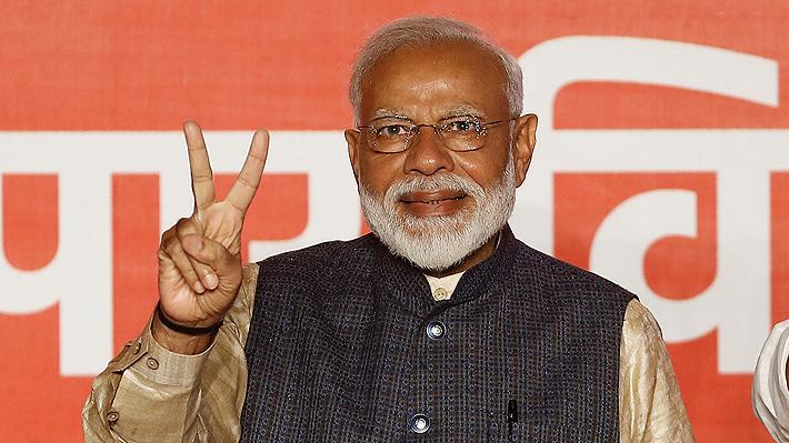 """Primer Ministro indio celebra su reelección: """"Si alguien ha ganado, es la democracia"""""""