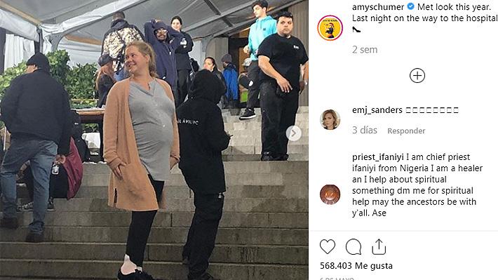 """Amy Schumer respondió a quienes la criticaron en redes sociales por volver a trabajar """"muy pronto"""" después de dar a luz"""