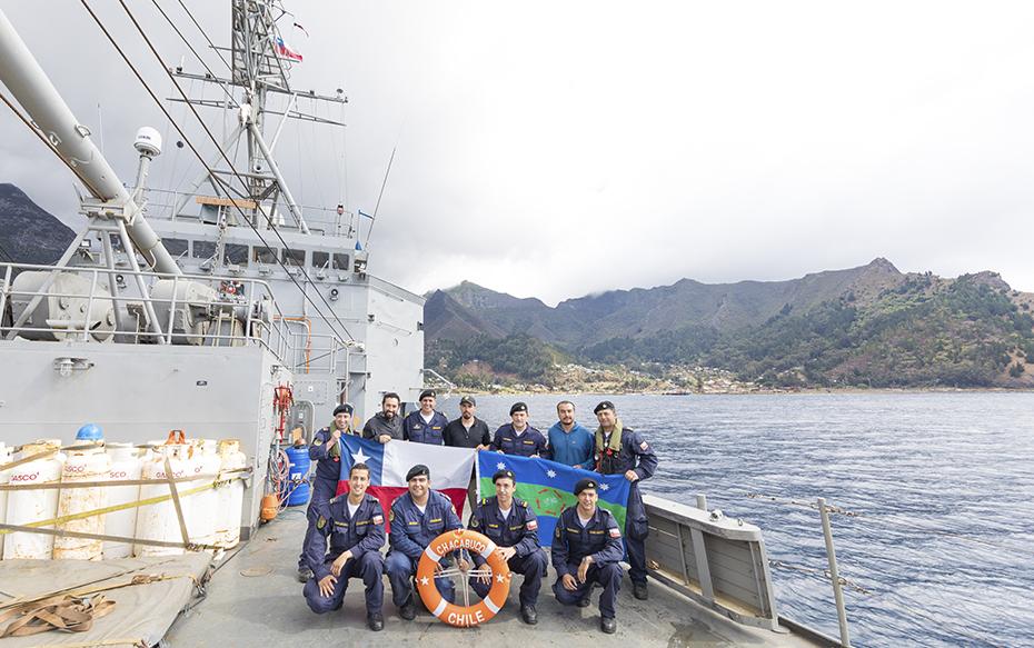 Galería: La primera expedición científica hecha por habitantes de Juan Fernández al interior de las Islas Desventuradas