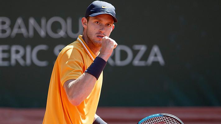 Brillante: Nicolás Jarry superó con solvencia a Albot en la semifinal de Ginebra y ahora irá por su primer título ATP