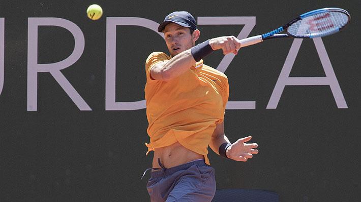 Mira el punto con que Jarry logró el paso a la final del ATP de Ginebra
