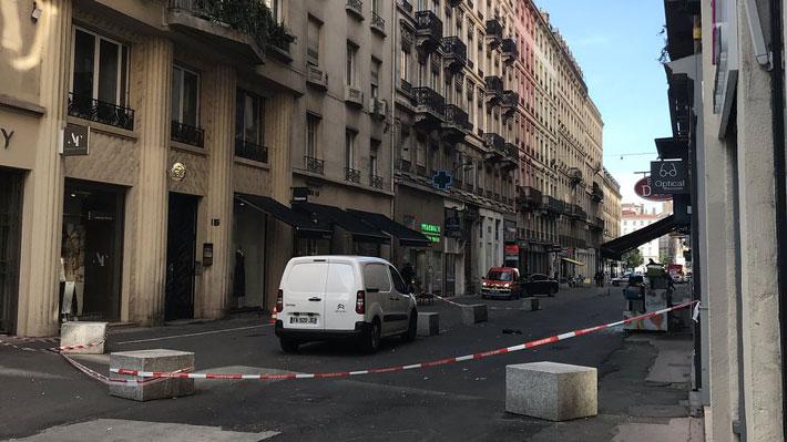 Francia: Explosión en el centro de Lyon deja al menos ocho personas heridas