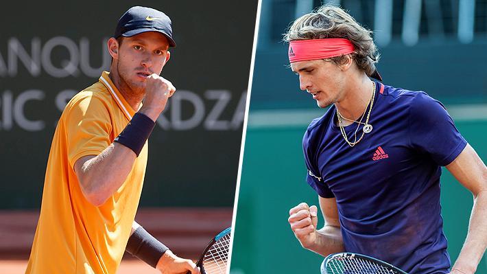 Otra vez Zverev en el camino: El 5 del mundo será el rival de Jarry en la final del ATP de Ginebra