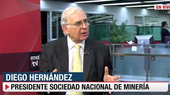 """Presidente del gremio minero sincera expectativas: El sector """"no va a contribuir mucho al crecimiento del PIB"""" este año"""