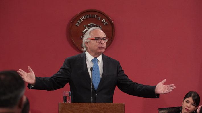 """Ministro Chadwick anuncia proyecto para evitar el amedrentamiento ciudadano como los """"narcofunerales"""""""