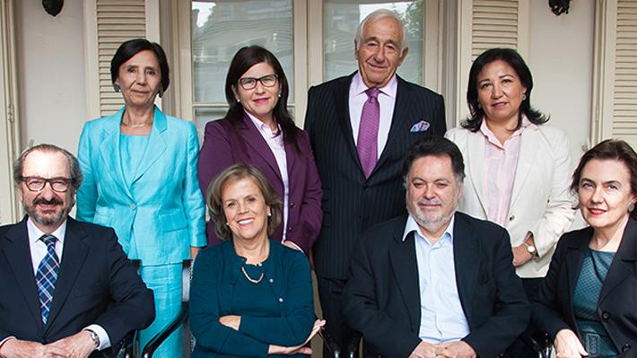 Los integrantes del CNED: Cuatro designados por Bachelet, uno por Piñera y tres representan a la educación superior