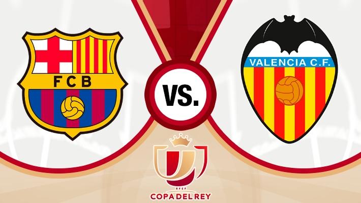 Revive la caída del Barcelona ante el Valencia en la final de la Copa del Rey