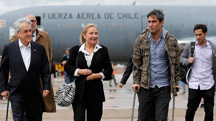 """Piñera: """"Contraloría dictaminó en forma categórica que viaje de mis hijos a China cumplió todas las normas de probidad"""""""