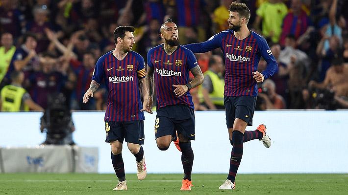 Barcelona suma otro traspié y cae en la final de la Copa del Rey: Vidal ingresó en el segundo tiempo